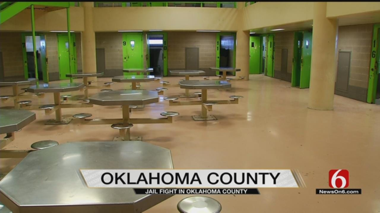 Stabbing Reported At Oklahoma County Jail