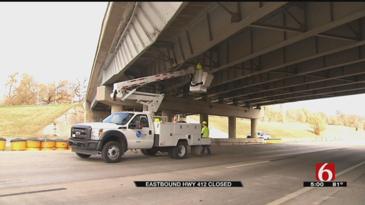 Section Of Eastbound 412 Shut Down Through Weekend After Bridge Damage