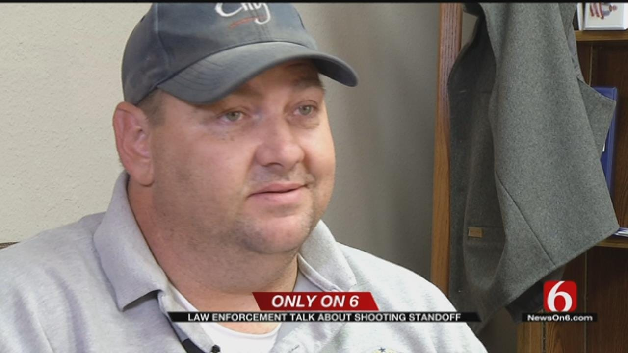 Officer Speaks Out About Osage County Standoff