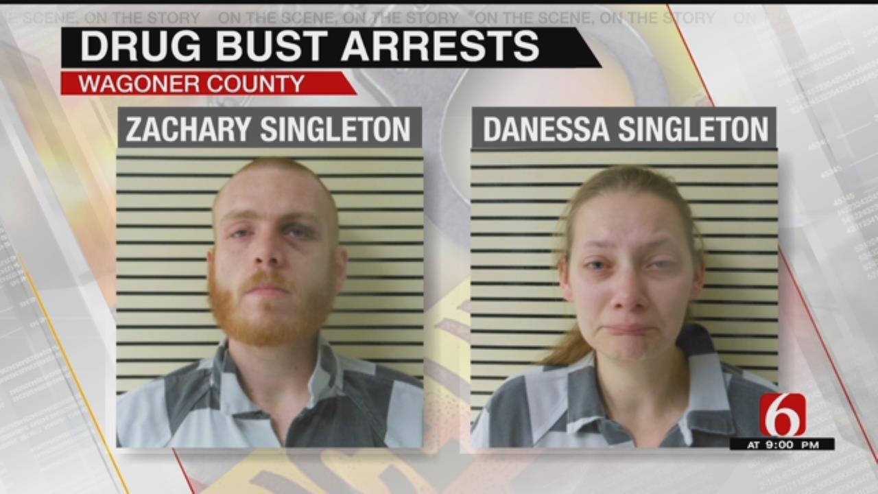 Toddler Found Inside Drug Bust House