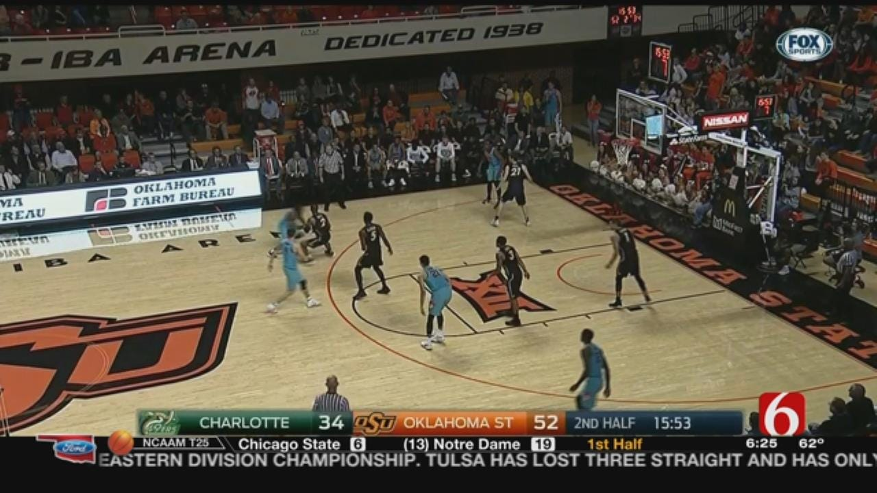 In-State B-Ball Clash Pits Cowboys Against Oral Roberts