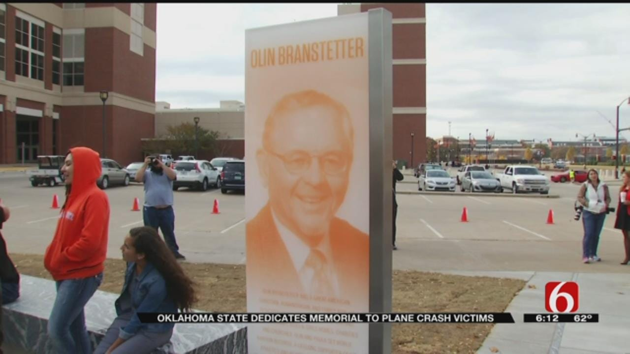 Memorial On OSU Campus Honors Lives Of 4 Killed In 2011 Plane Crash