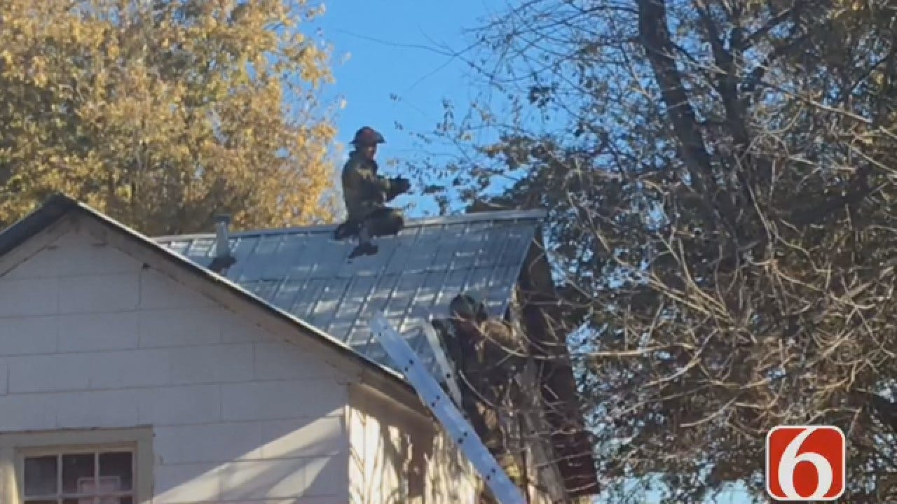 Joseph Holloway: Fire Spreads To Attic Of Tulsa Home