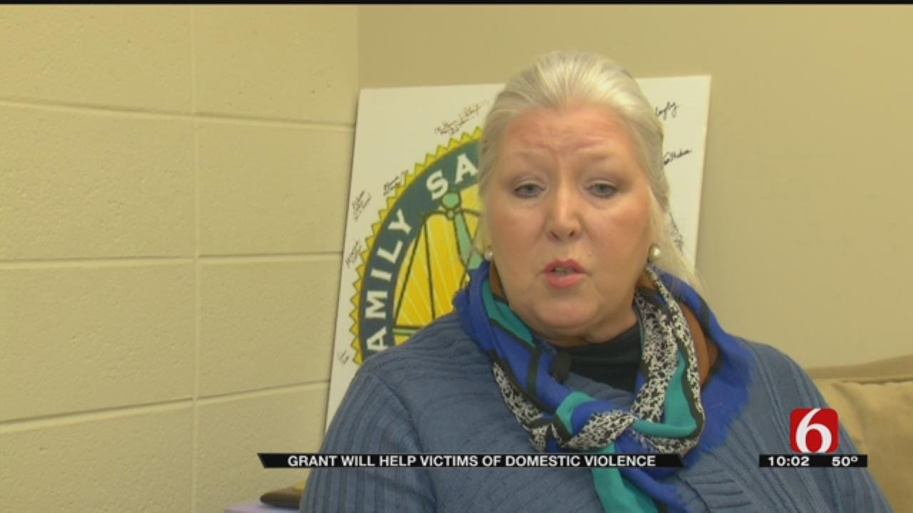 Domestic Violence Program Gets Financial Boost Through Grant