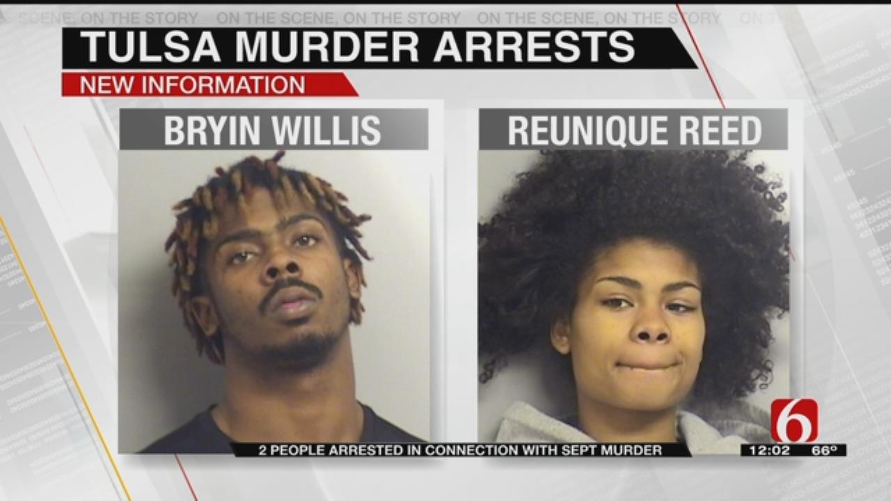 Two Arrested In September Murder In Tulsa