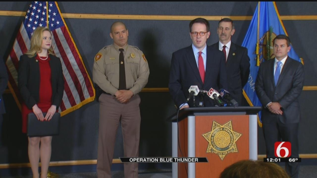 Tulsa Crime Task Force Wraps Up Month-Long Operation