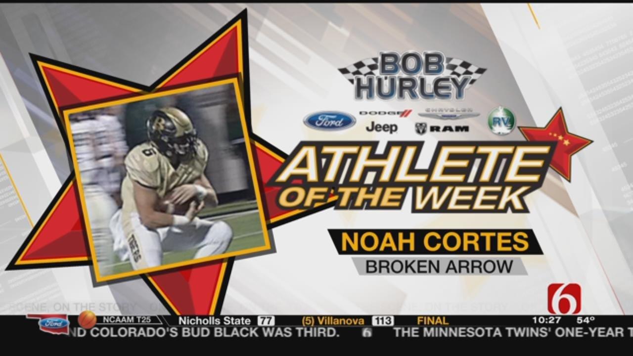 Athlete Of The Week: Broken Arrow's Noah Cortes
