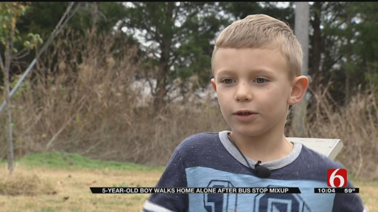 Family In Disbelief After 5-Year-Old Had To Walk Home Alone