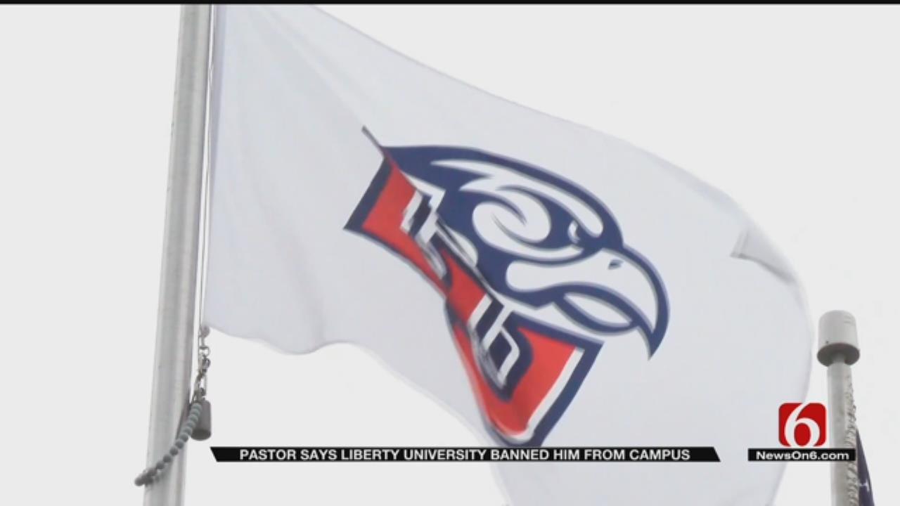 Tulsa Pastor Banned From Virginia's Liberty University Campus