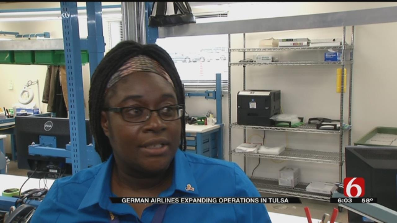 Lufthansa To Expand Operations In Tulsa