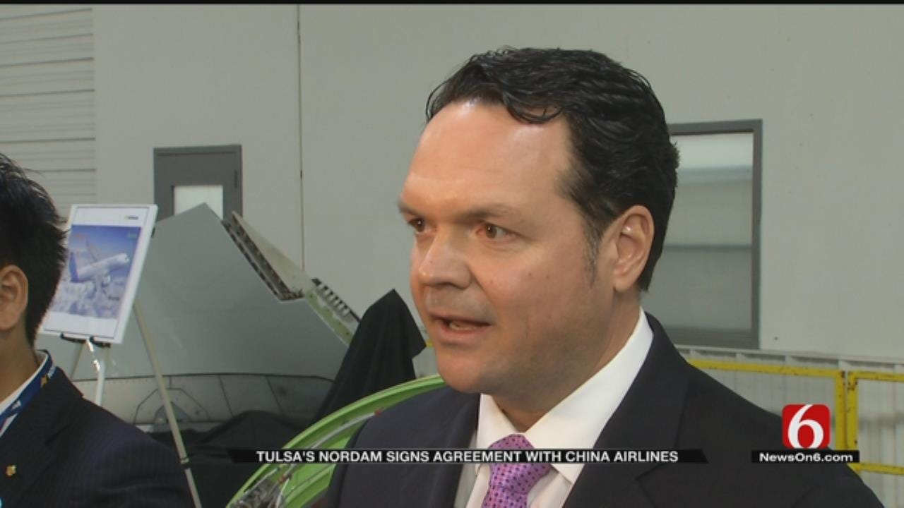 Tulsa's NORDAM Signs Agreement With China Airlines