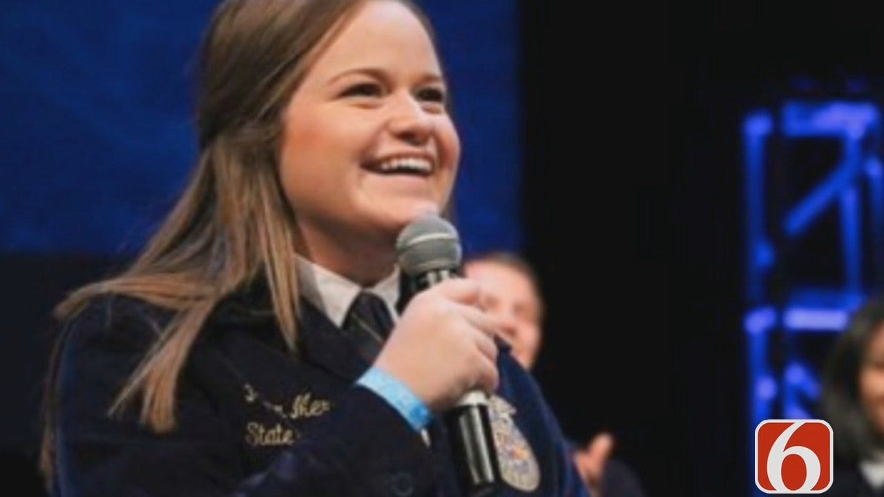 Julia Benbrook: Owasso's Piper Merritt Becomes National FFA Officer