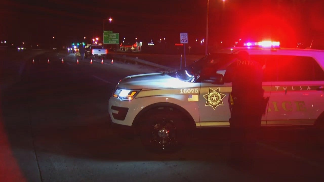 WEB EXTRA: Video From Scene Of Accident