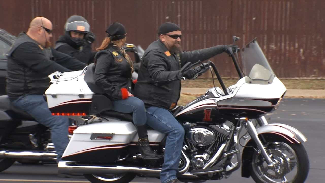 Bikers Organize Turkey Run For Families In Need