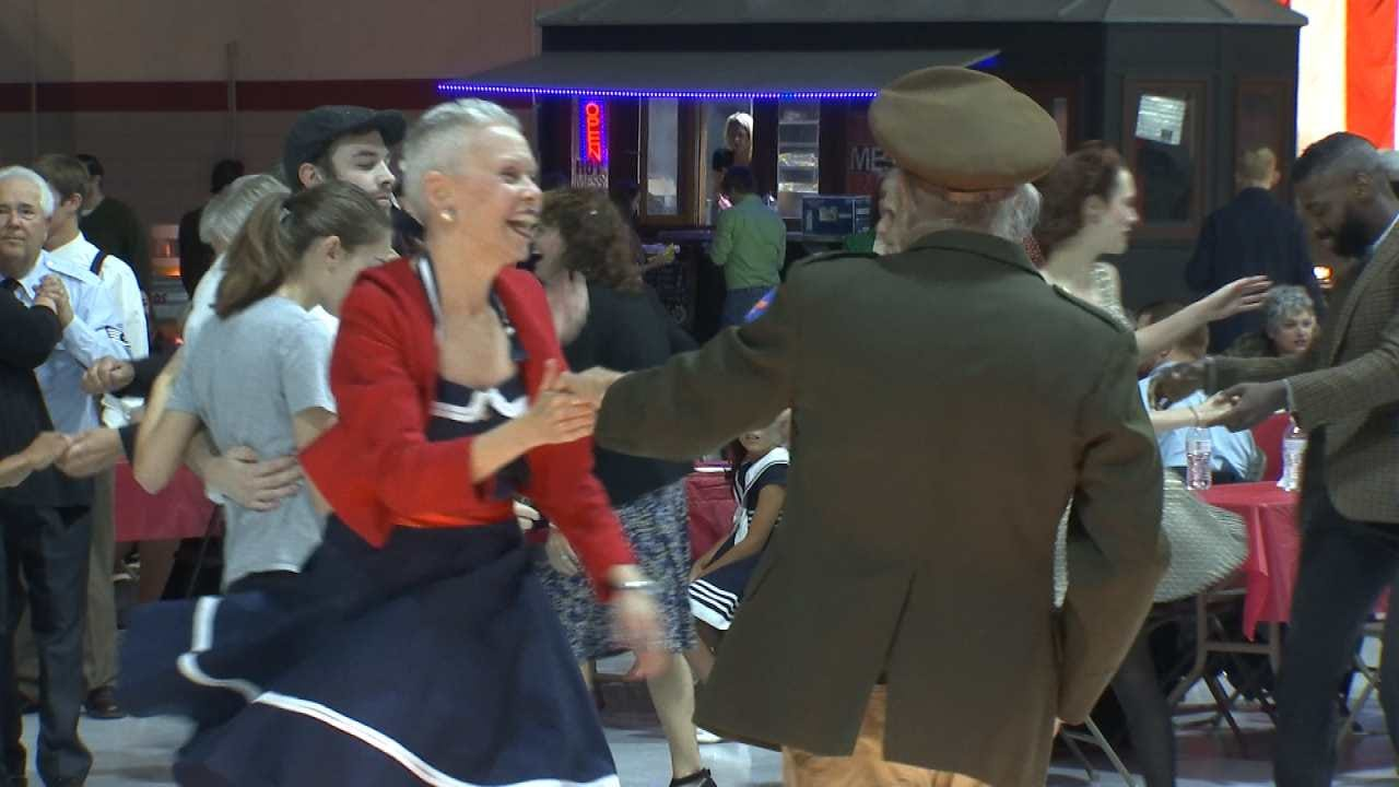 Vintage Swing Dance Gets Young And Old Moving