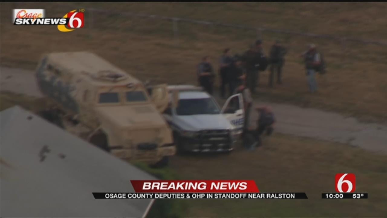 Shots Fired At Deputies In Osage County Standoff