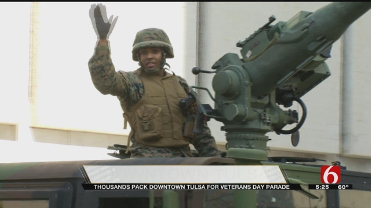 Tulsa's Annual Veterans Day Parade