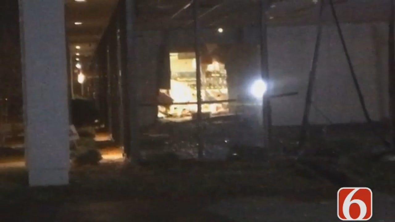 Joseph Holloway Reports SUV Used In Tulsa Gun Store Burglary