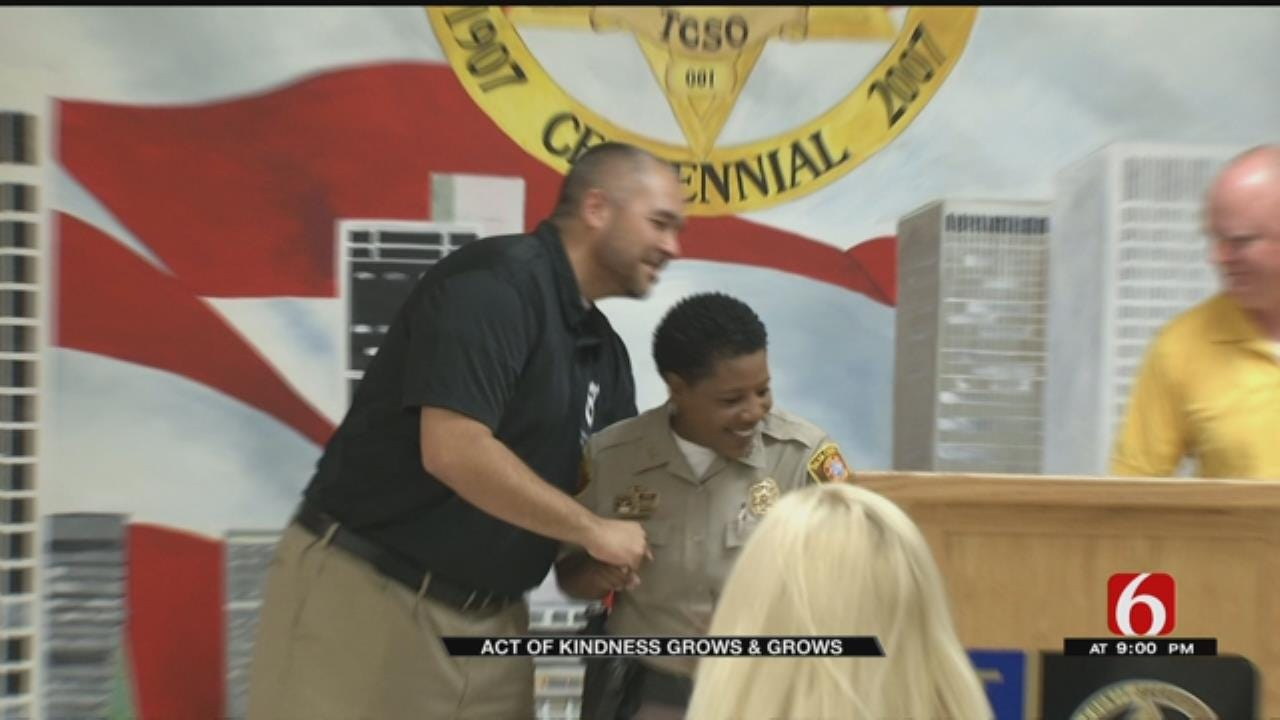 TCSO Deputy's 'Act Of Kindness' Is Paid Forward