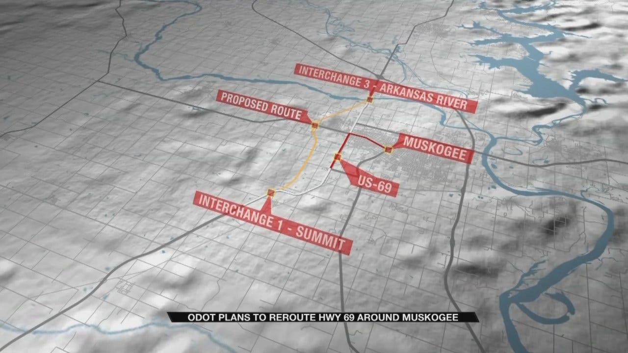 Project Would Reroute Highway 69 Around Muskogee