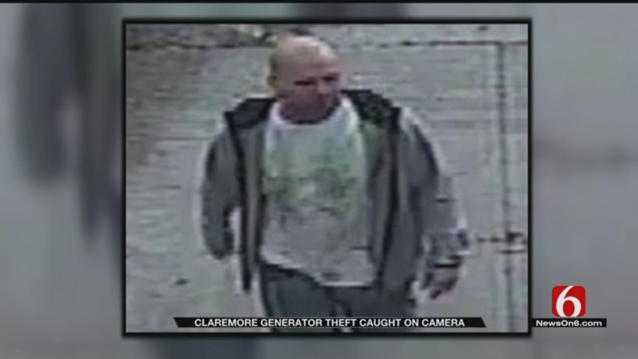 Man With Devil Tattoo Steals Generator From Store, Claremore Police Say