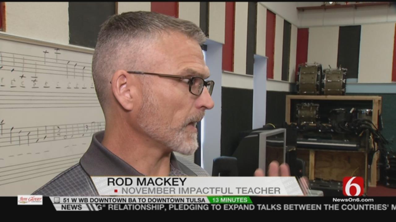 Collinsville Educator Selected As News On 6 'Impactful Teacher'
