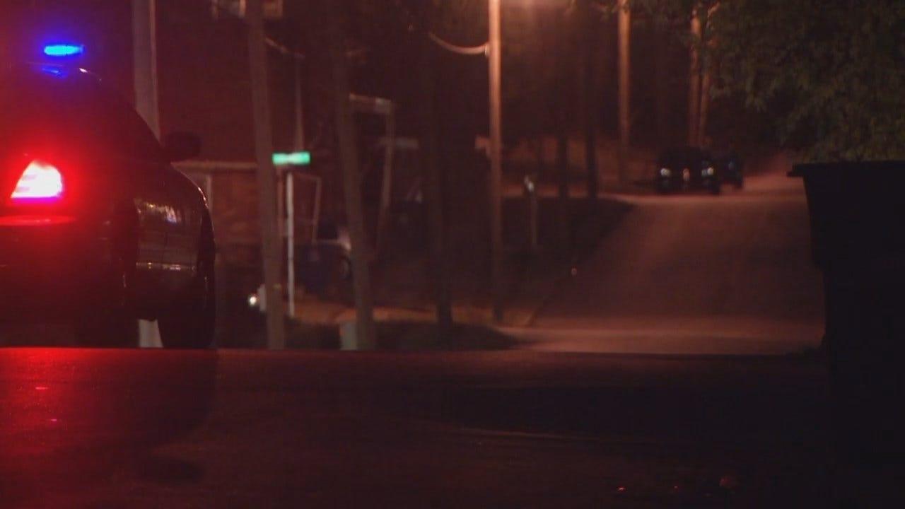WEB EXTRA: Video From Scene Of Tulsa Stolen Car Arrest
