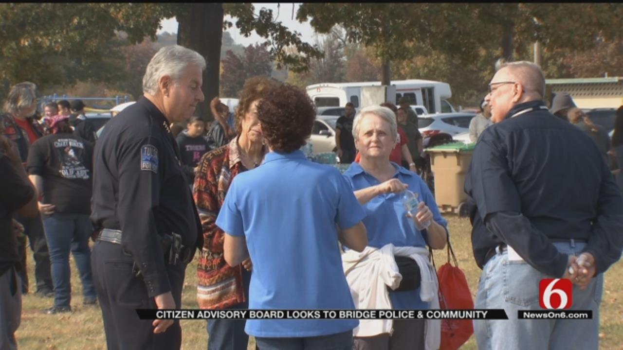 Community, Police Work Together Toward Safer Tulsa