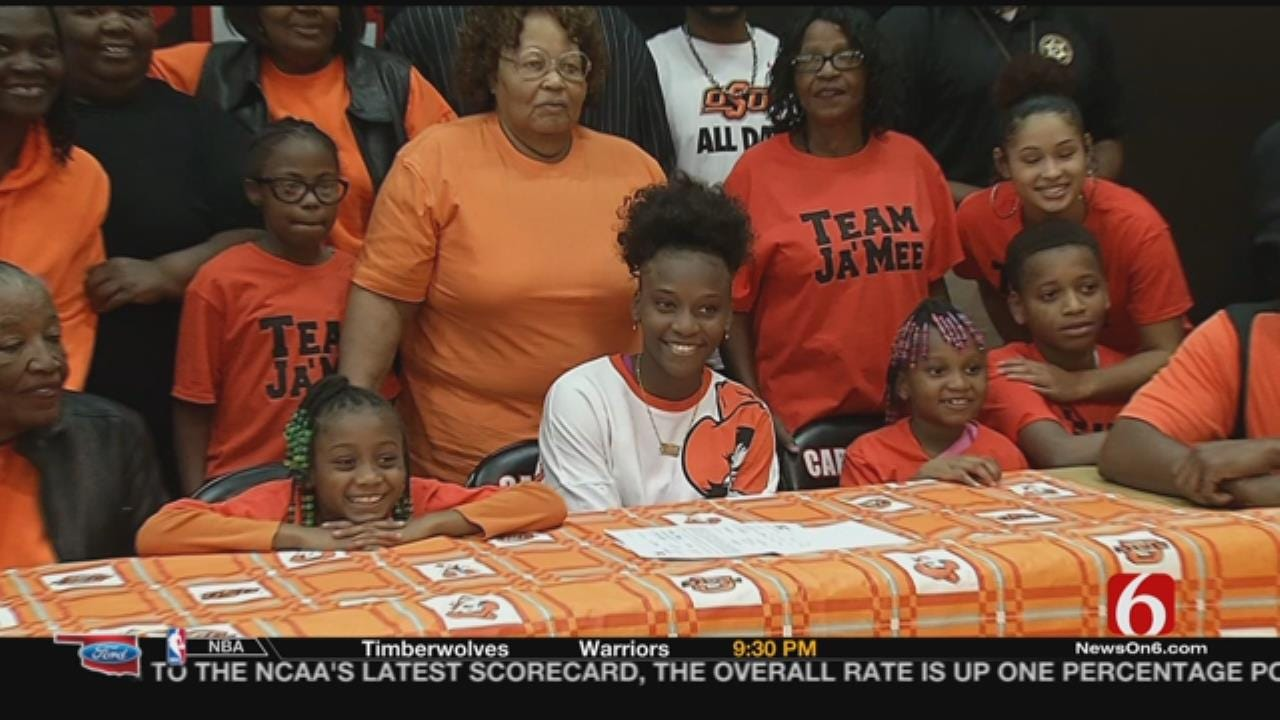East Central's Jamee Asberry Signs With OSU