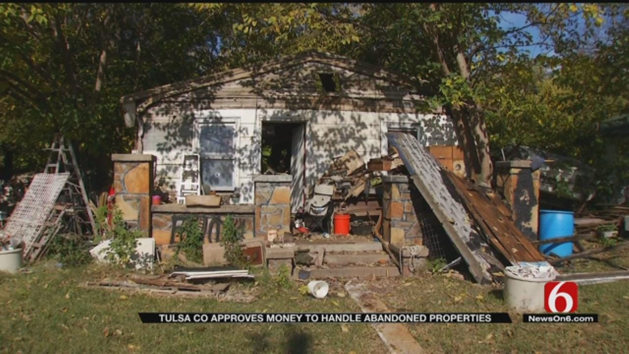 Tulsa County Commissioners Working To Tear Down Hazardous Homes