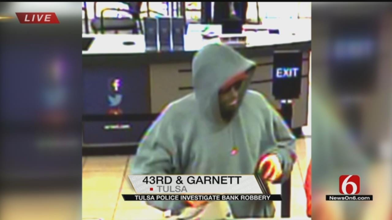 Police Investigating Tulsa Bank Robbery
