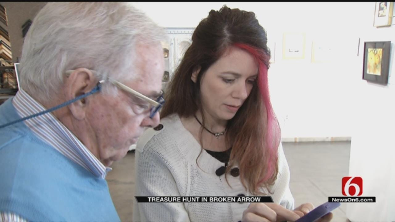 Local Artists Create Public Art Treasure Hunt In Broken Arrow