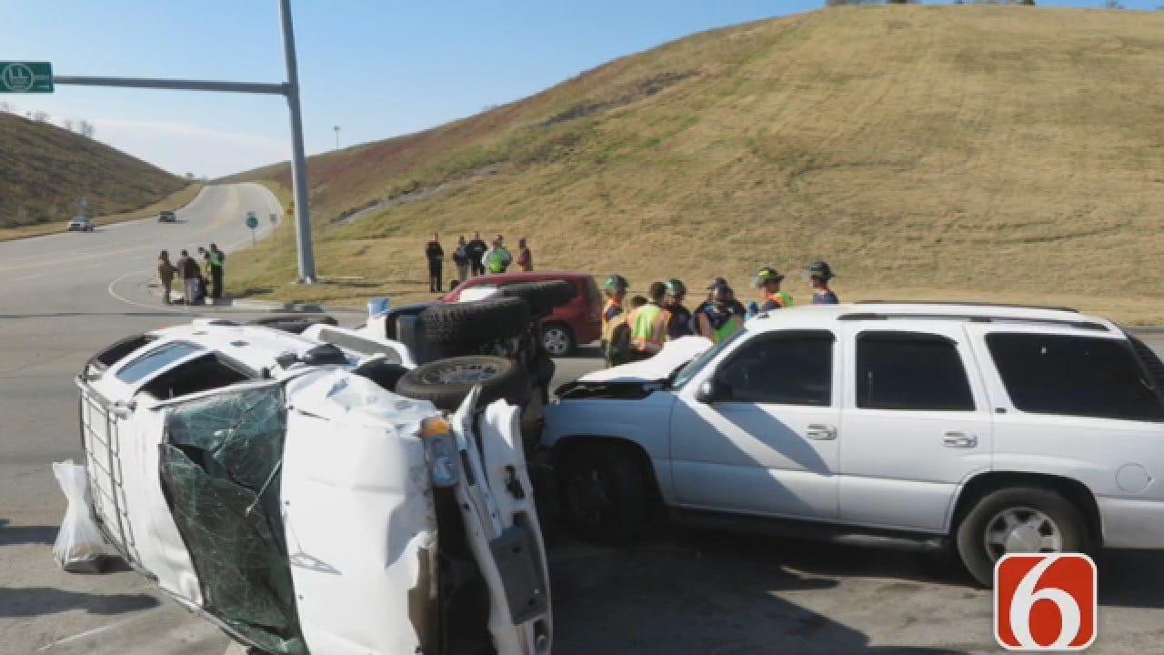 Emory Bryan: Red Light Runner Blamed For 3-Vehicle Crash In Tulsa