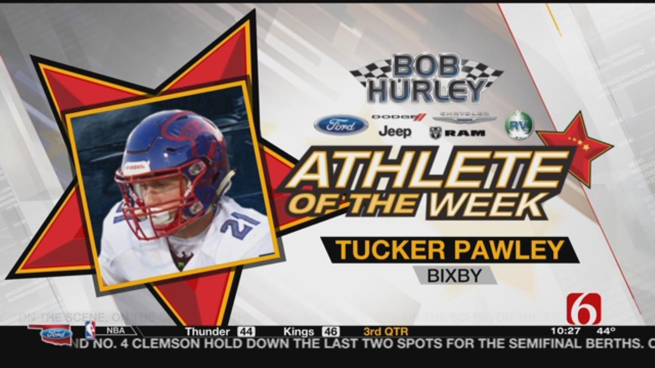 Athlete Of The Week: Bixby's Tucker Pawley
