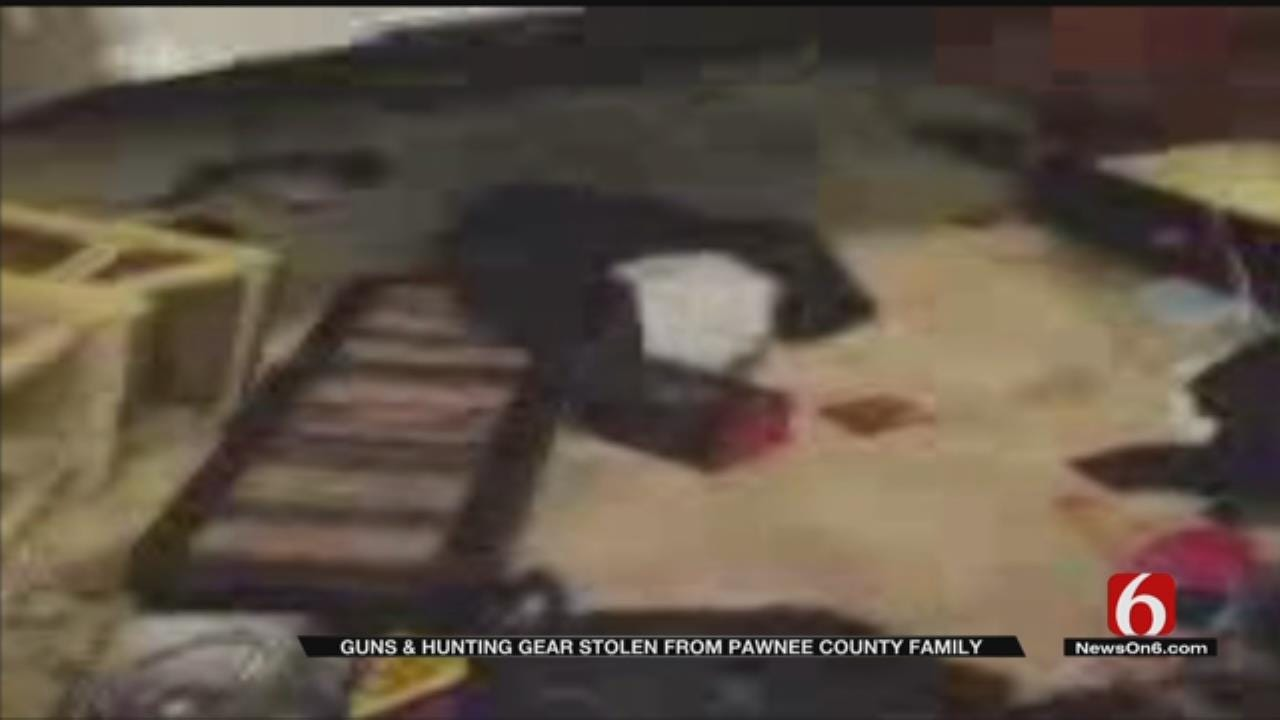Man Warns Hunters After Guns Stolen From Pawnee County Home