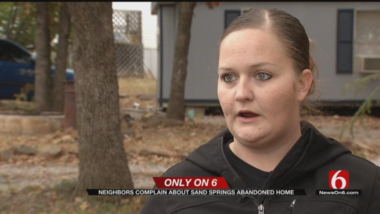 Tulsa County Woman's Attempts To Clean Burned Property Go Nowhere