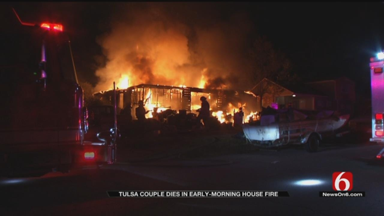 Neighbors Shocked After House Fire Claims Tulsa Parents' Lives