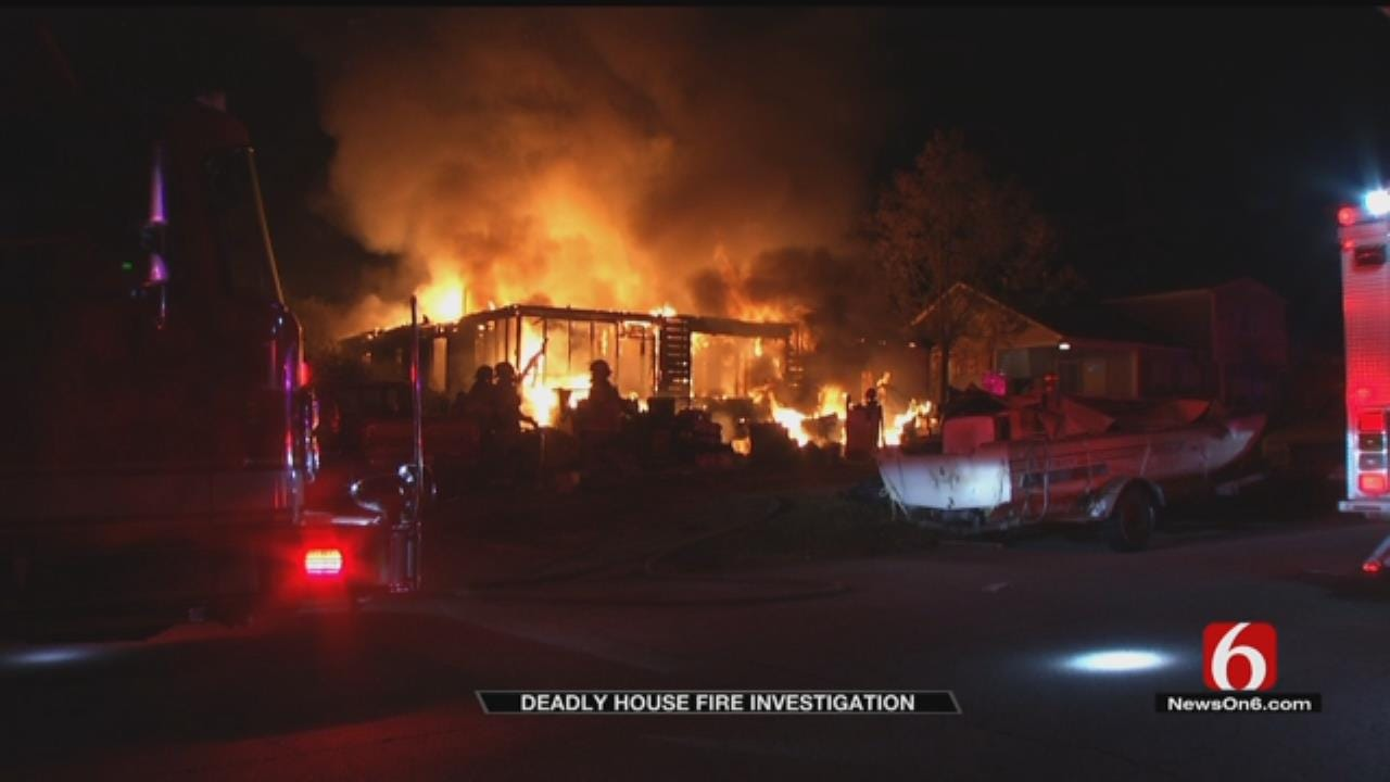Tulsa Parents Killed In House Fire