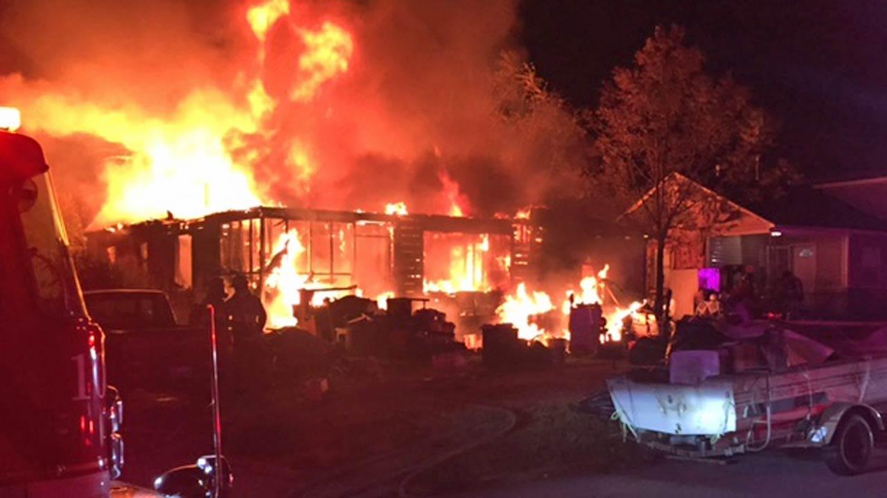 Joseph Holloway: Parents Killed In Tulsa House Fire