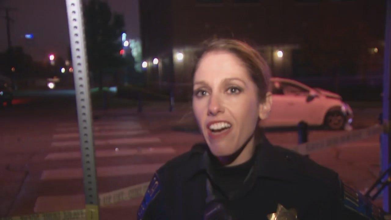 WEB EXTRA: Tulsa Police Officer Jennifer Murphy Talks About The Crash