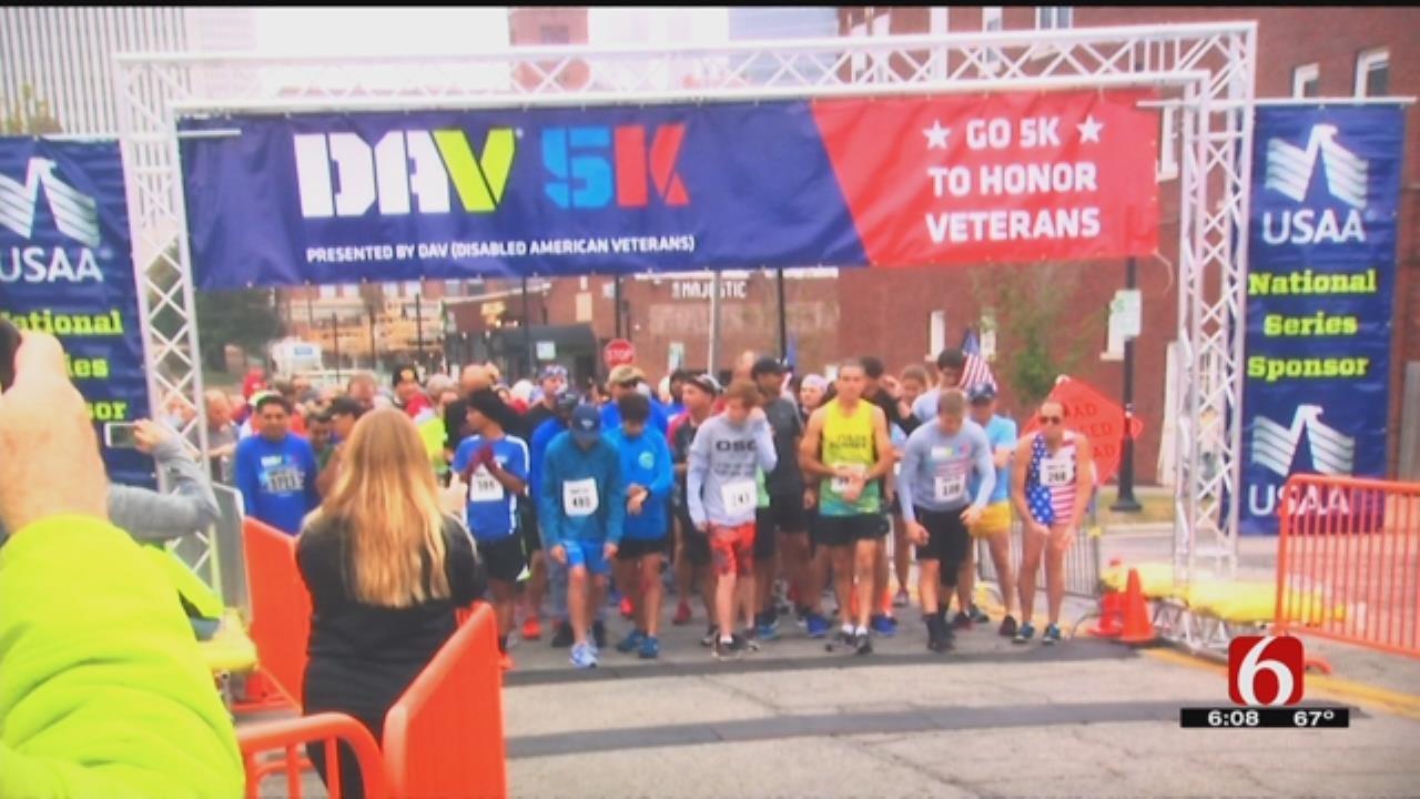 Tulsa 5K Raises Awareness For Veteran Suicide