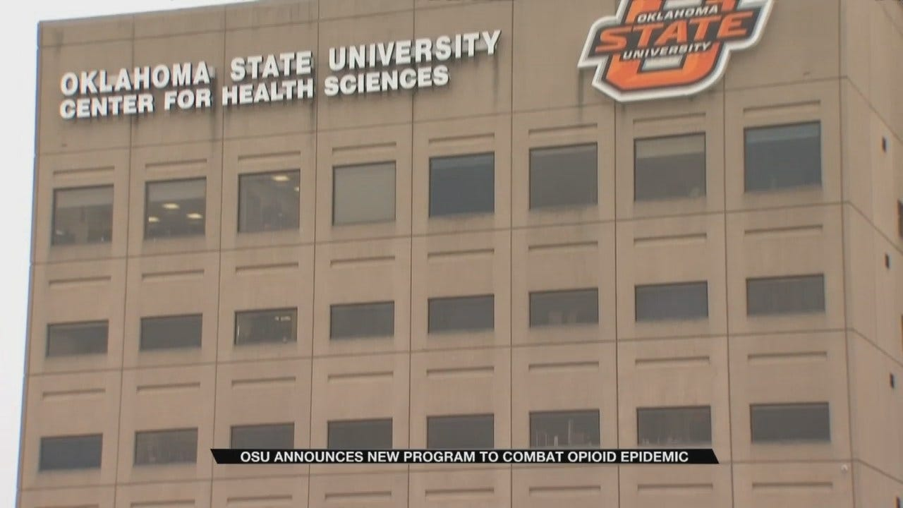 OSU Works To Combat State's Opioid Epidemic