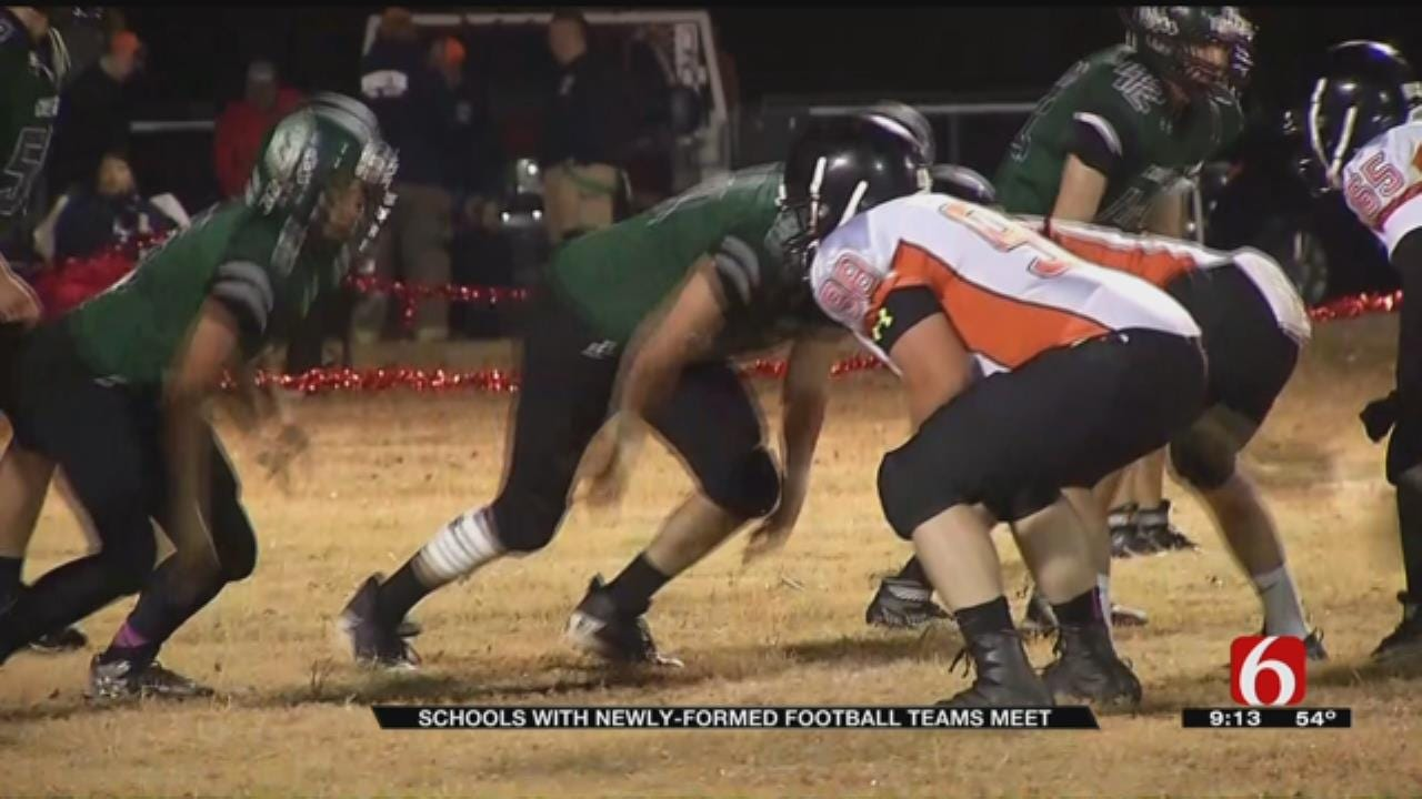 Newly Created Oklahoma HS Football Teams Face Off