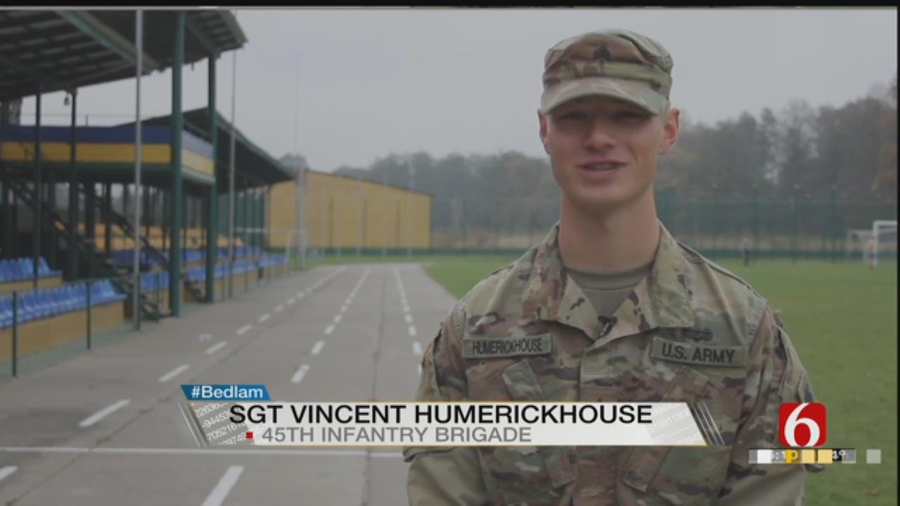 Bedlam Shoutout From Sgt. Vincent Humerickhouse Serving In Ukraine
