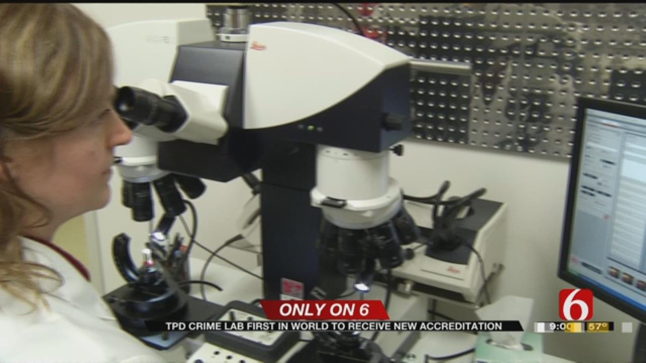 Tulsa Forensic Lab Sets International Example