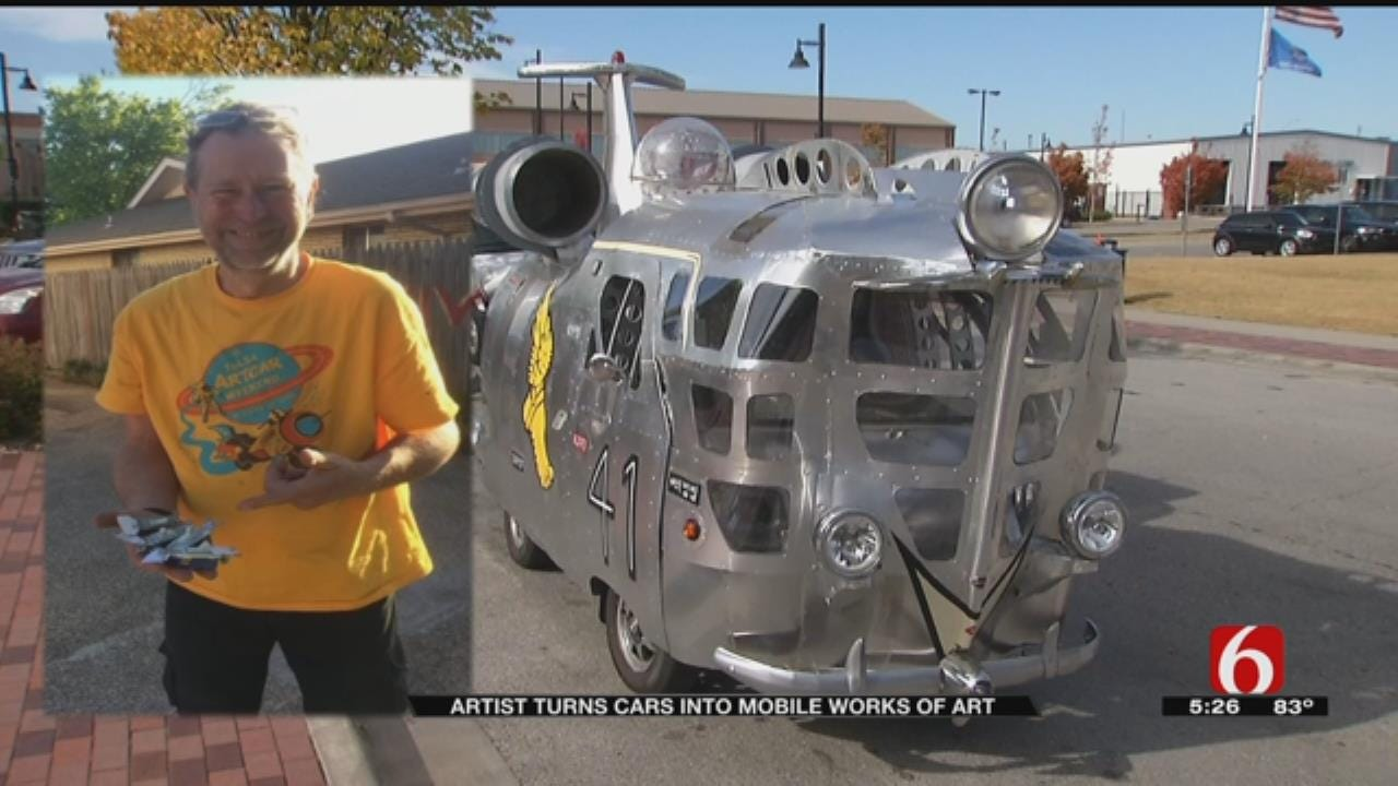Car Enthusiast's Set Of Wheels Turns Heads In Tulsa