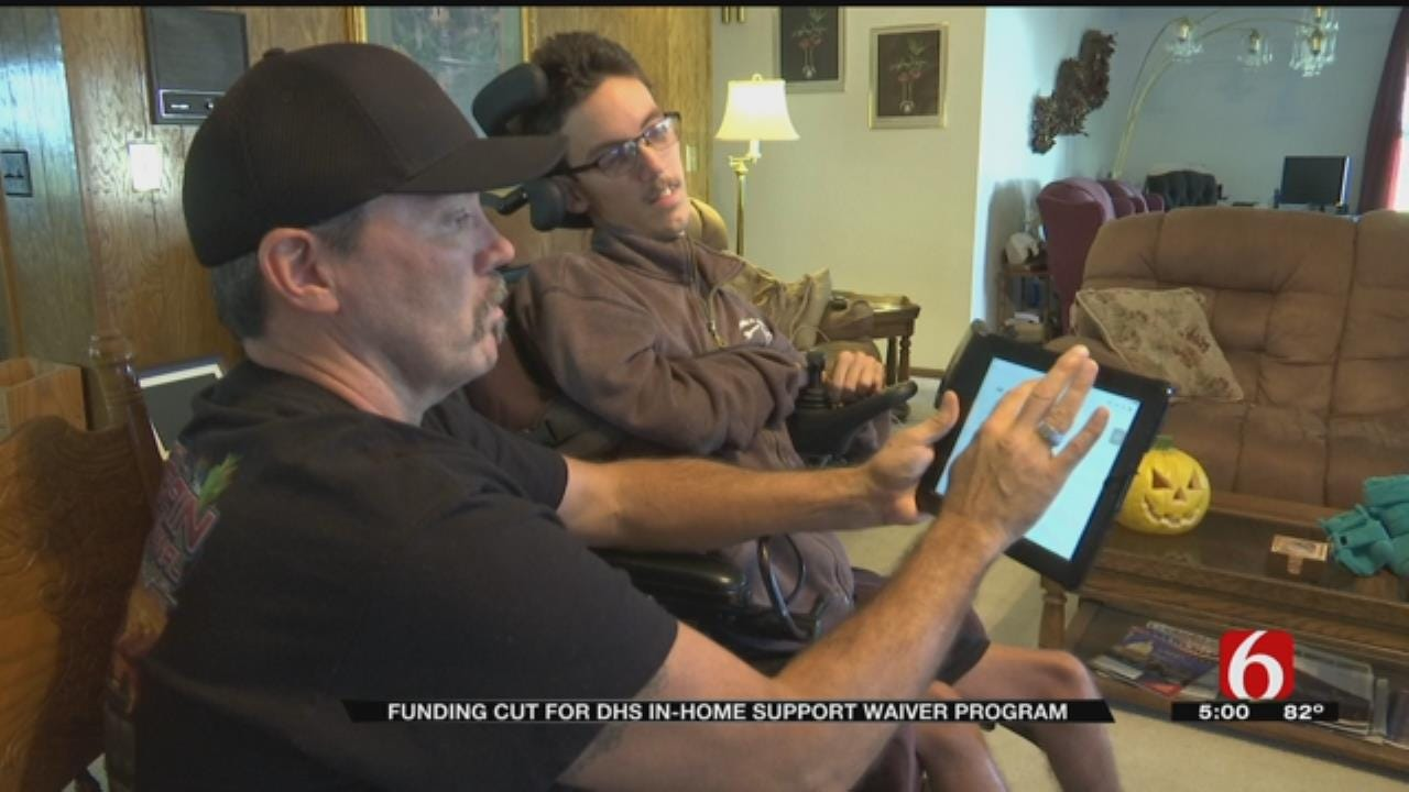 Tulsa Father Worries DHS Budget Cuts Will Impact Care Of Dependent Son