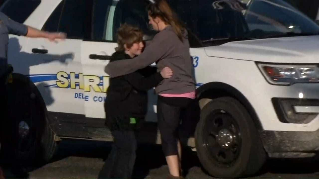 WATCH NOW: Missing Boy Reunited With Mom At Grand Lake