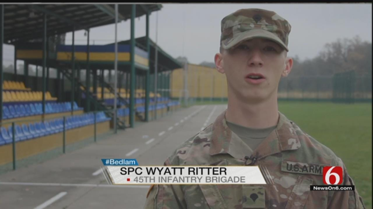 Bedlam Shoutout From Spc. Wyatt Ritter, Serving In Ukraine