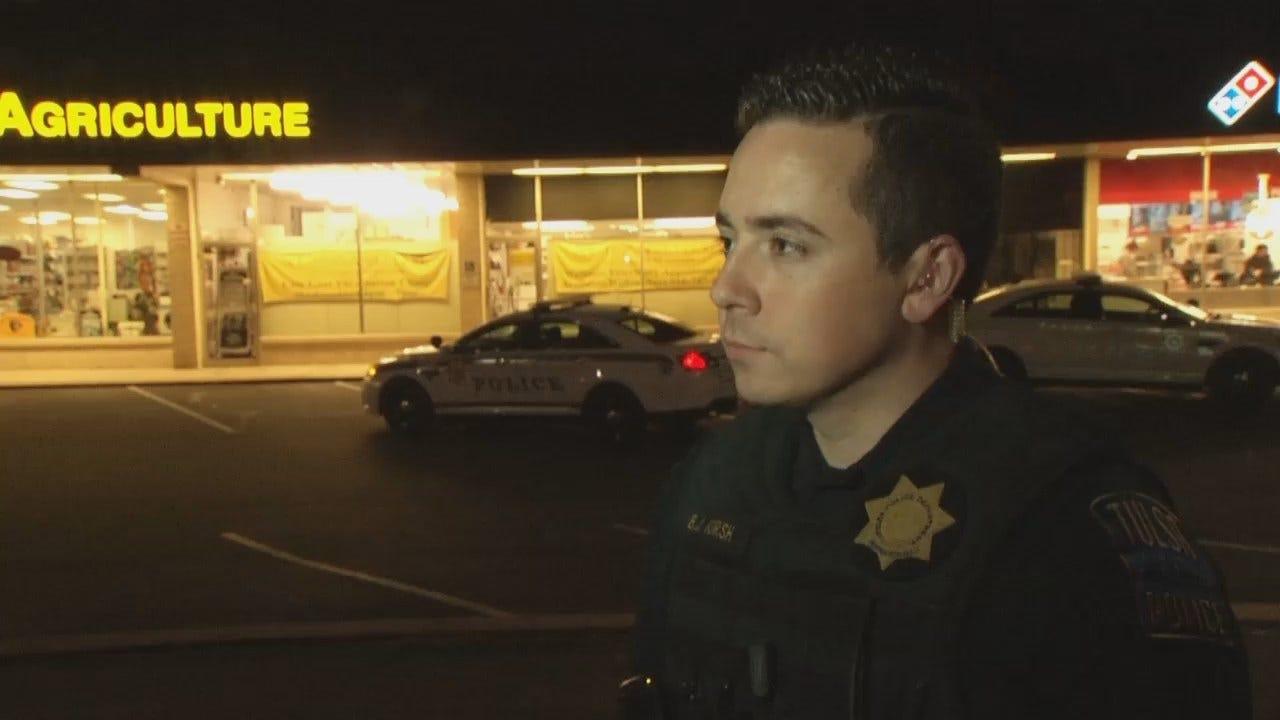 WEB EXTRA: Tulsa Police Officer Billy Hursh Talks About Robbery